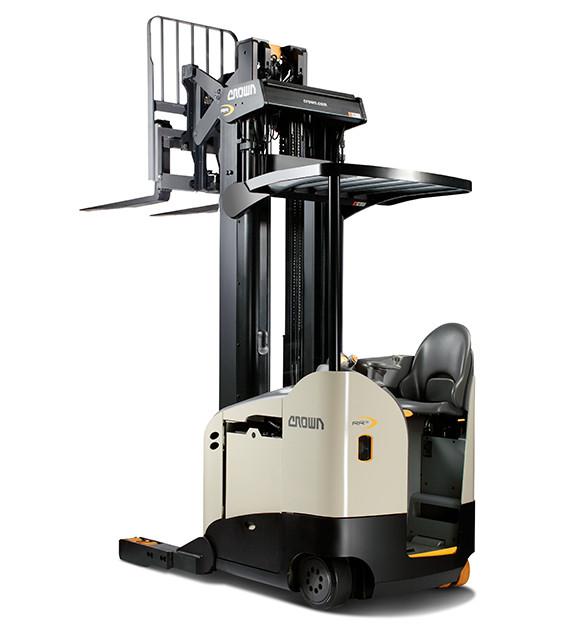 Crown RR5700 Single Reach Sit Down Forklift